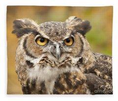 Here's Looking At You Fleece Blanket
