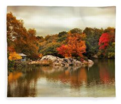 Hernshead Reflections Fleece Blanket