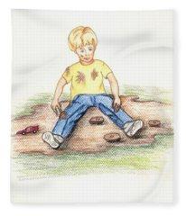 Hez Fleece Blanket