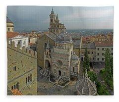 High Angle View Of The Basilica Di Fleece Blanket