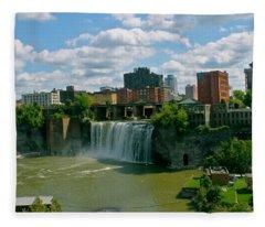 Skylines Fleece Blankets