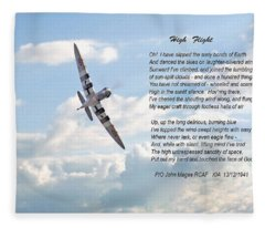High Flight Fleece Blanket