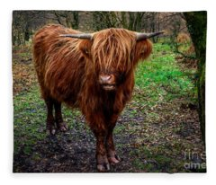 Highland Beast  Fleece Blanket