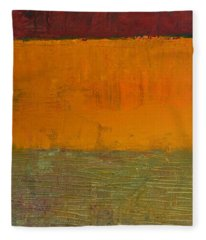 Highway Series - Grasses Fleece Blanket
