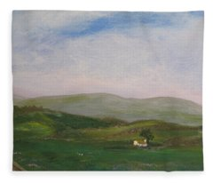 Hills Of Ireland Fleece Blanket
