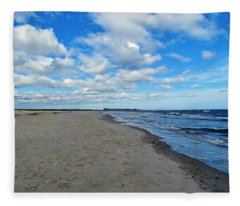 Holden Beach Nc Fleece Blanket