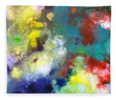 Holding The High Watch Canvas Two Fleece Blanket