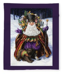 Holiday Riches Fleece Blanket