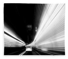 Holland Tunnel - Image 1696-01 Fleece Blanket