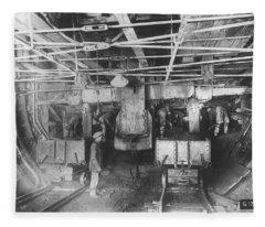 Holland Tunnel, Nyc, 1923 Fleece Blanket