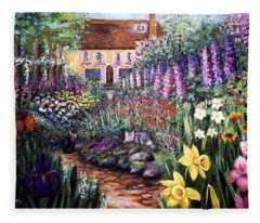 Home Garden Fleece Blanket