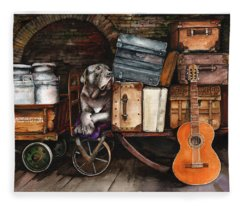 Homeward Bound Fleece Blanket