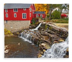 Honeoye Falls 1 Fleece Blanket