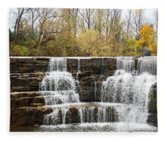 Honeoye Falls 2 Fleece Blanket