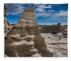 Hoodoo Rock Formations Fleece Blanket