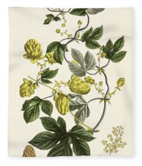 Hop Vine From The Young Landsman Fleece Blanket