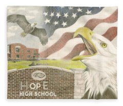 Hope High School Fleece Blanket