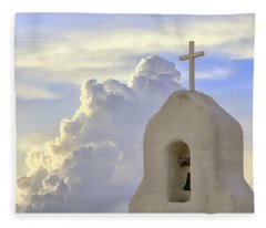 Hope In The Storm Fleece Blanket