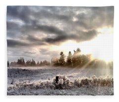 Hope - Landscape Version Fleece Blanket