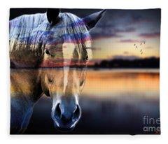 Beauty Mark Fleece Blankets