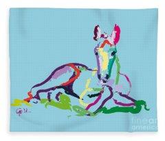 Horse - Foal - Sweetie Fleece Blanket
