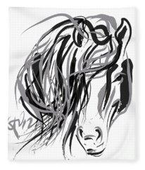 Horse- Hair And Horse Fleece Blanket
