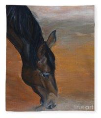 horse - Lily Fleece Blanket