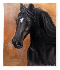 Horse - Lucky Star Fleece Blanket