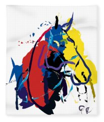 Horse- Zam Fleece Blanket
