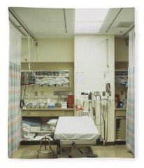 Hospital Treatment Area Fleece Blanket