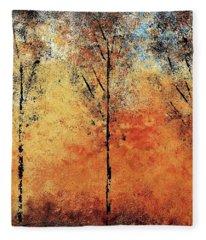 Hot Hillside Fleece Blanket