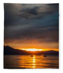 Hot Water Fleece Blanket
