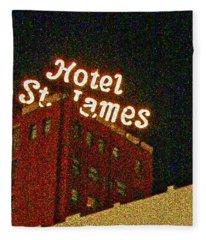 Hotel - St James San Diego Fleece Blanket