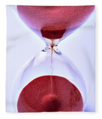 Hourglass Fleece Blanket