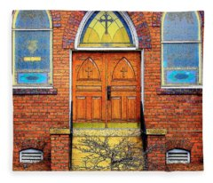House Of God Fleece Blanket