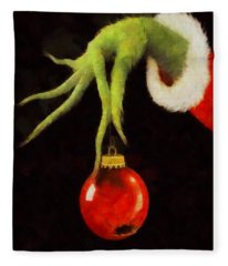 How The Grinch Stole Christmas Fleece Blanket