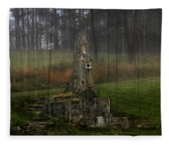 Howard Chandler Christy Ruins Fleece Blanket
