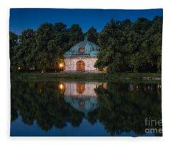 Hubertusbrunnen Fleece Blanket