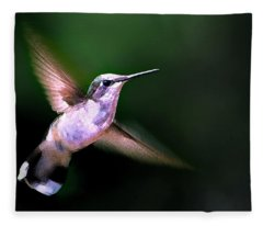 Hummer Ballet 1 Fleece Blanket
