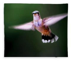 Hummer Ballet 3 Fleece Blanket