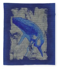 Humpback Whale Song Fleece Blanket