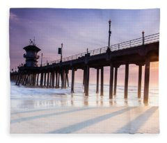 Huntington Pier Fleece Blanket