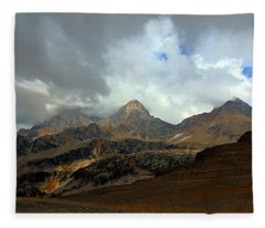 Hurricane Pass Fleece Blanket