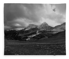 Hurricane Pass Storm Fleece Blanket
