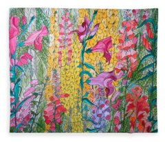 Hybrids 4 Fleece Blanket