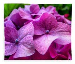 Hydrangea Bliss Fleece Blanket