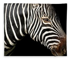 I Am A Zebra Fleece Blanket