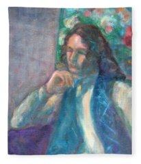 I Am Heathcliff - Original Painting  Fleece Blanket
