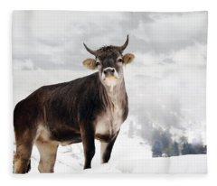 I Don't Like Snow Fleece Blanket