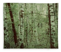 Dreams Of A Forest Fleece Blanket